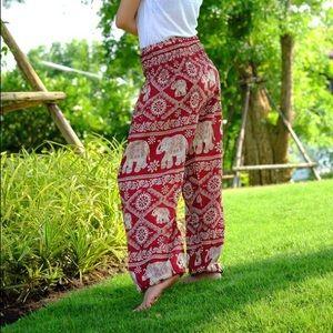 Pants - Red Elephant Thai Harem Pants